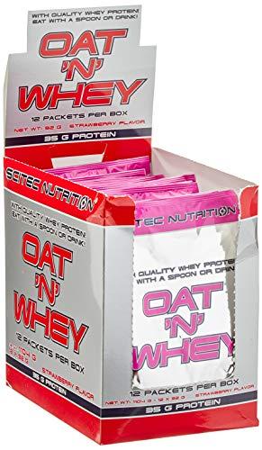 Scitec Nutrition OAT'N WHEY Erdbeere, 1er Pack (1 x 1,104 kg)