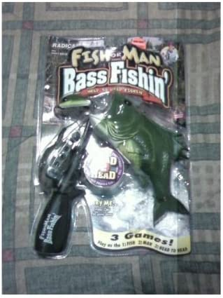 Fish Al sold out. or Man Bass by Radica Games OFFicial Fishing