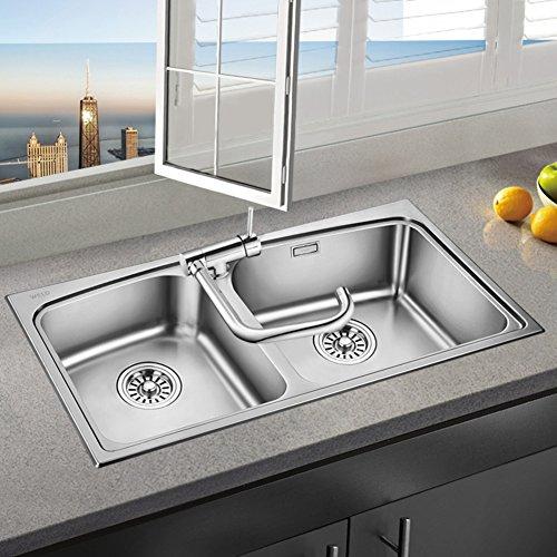 Kreative Kurzen Fingertipp Küchenarmatur Vollen Messing Küchenarmatur Moderne Faltbare Wasserhahn Öffnen Sie Fenster Kreativ Niedrigen Wasserhahn