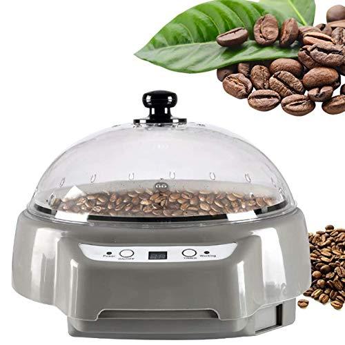 500G Coffee Roaster Maschine Startseite Kaffeebohnen Röstmaschine Mit Timing-Funktion Temperatur Einstellbar Für Kaffee, Rohe Bohnen, Erdnüsse, Getreide, Gewürze Backe,Grau