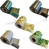 HSM 1 x Zaun Sichtschutz Blende Zaunfolie Sichtschutzstreifen 19cm x 35m aus hochwertigem PVC als...