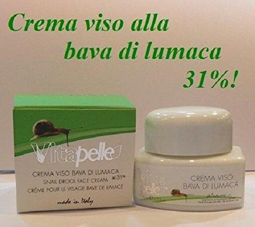 Crème visage à la bave d'escargot 31%
