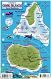 Cook Islands Dive Map & Coral Reef Creatures Guide Franko Maps Laminated Fish Card