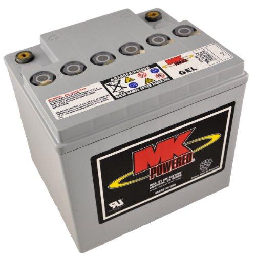MK M40-12 SLD G - Batería de gel para sillas de ruedas y motos (12V, 40Ah) ⭐