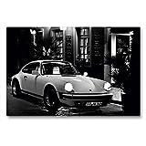 Premium Textil-Leinwand 90 x 60 cm Quer-Format Porsche 911