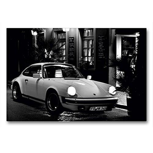 Premium Textil-Leinwand 90 x 60 cm Quer-Format Porsche 911 SC | Wandbild, HD-Bild auf Keilrahmen, Fertigbild auf hochwertigem Vlies, Leinwanddruck von Ingo Laue