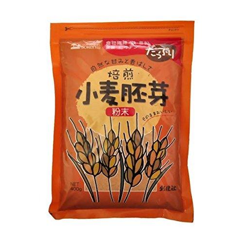 創健社 小麦胚芽粉末 400g ×4セット