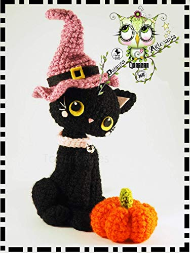 Terrifying Halloween amigurumi, witch, pumpkins, black cat… – SILAYAYA | 500x375