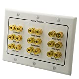 YinXiong 3-Gang 9.0 Surround Sound Distribution Speaker Wall Plate