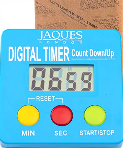 Jaques of London Digitale zeitschaltuhr für Kinder - Premium-Lernuhr mit Countdown-Timer Montessori Spielzeug ab 2 3 4 5 6 Jahre