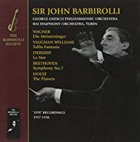 Holst Wagner Vaughan Williams Debussy by John Barbirolli