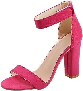 2b4986aa56a46 Amazon.com: Hot Pink Sandals - 3