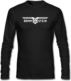 Duanfu DIY Rammstein Men's Long-Sleeve Fashion Casual Cotton T-Shirt