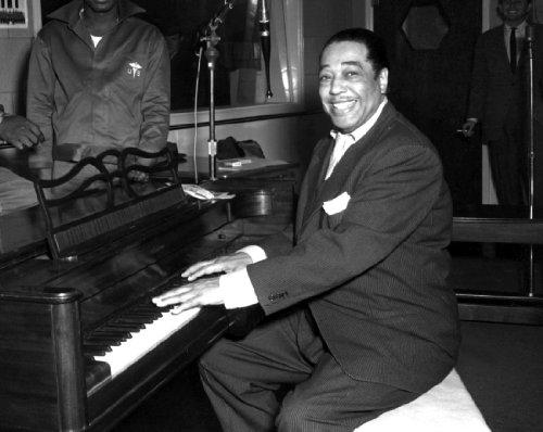 Duke Ellington spielt das Klavier Foto Jazz Musiker Musik Fotos 20,3 x 25,4 cm