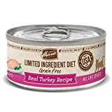 Merrick Limited Ingredient Diet Grain Free Turkey Canned Cat Food, 5...