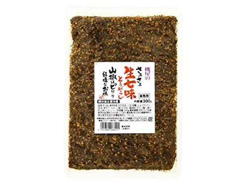 桃屋 さあさあ生七味とうがらし 山椒はピリリ 結構なお味 300g
