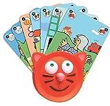Djeco DJ05997 05997 Porte-Cartes pour Enfant Multicolore