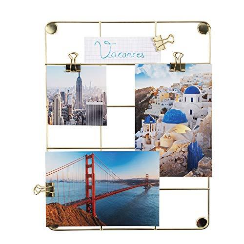 Exacompta 12355E Álbumes de Fotos, Oro, 21,7x28,1 cm