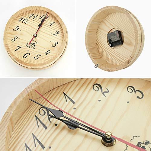 Wooden Sauna Clock