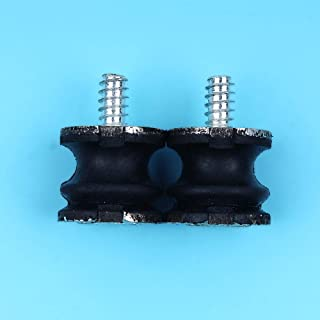 Haoyueda 2pcs / lot Isolater Mounts Buffer Compatible con Husqvarna 268 272 61 266 Jonsered 625 630 670 Reemplazo de motosierra Nuevo