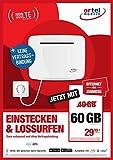 Ortel Mobile Spot B&le 60GB Internet-Router mit SIM Karte ohne Vertragsbindung