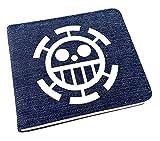 Billetera Cartera Anime One Piece Wallet Carteras De Cosplay School Students Money Bag Titular De La Tarjeta Bifold Monedero para