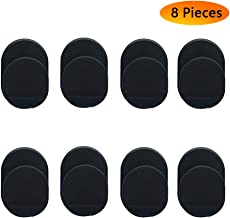 Ring Hook Mount Accessories, Asonlye 8 Pieces Upgrade Version Phone Mount Plastic Hooks for Universal Cellphone Finger Ring Holder Grip Stand - (Black)