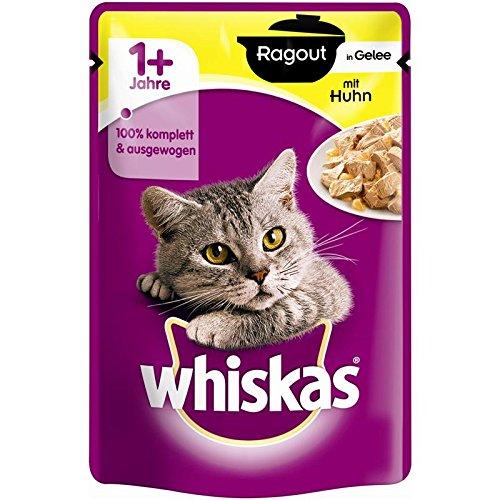 Whiskas Pb Ragout 1+ Huhn in Gelee 28x 85g Katzenfutter