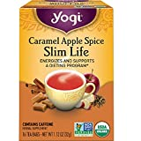 Yogi Tea - Caramel Apple Spice Slim Life (6 Pack) - Energizes and Supports a Dieting Program - 96 Tea Bags