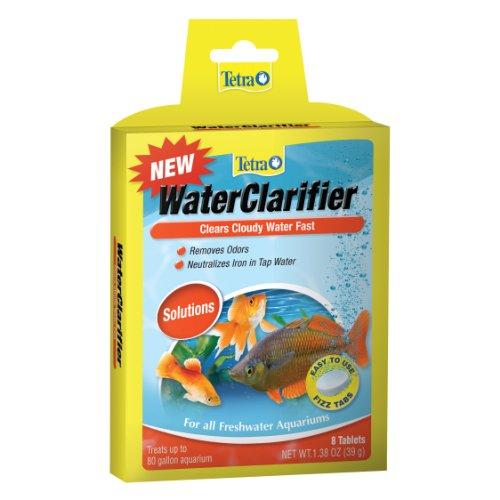 Tetra WaterClarifier Tablets 8 Count, Clears Cloudy aquarium Water