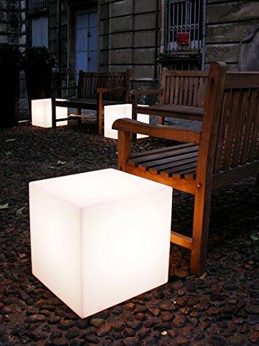 Slide Cubo-, 30x 30, Tisch, weiß