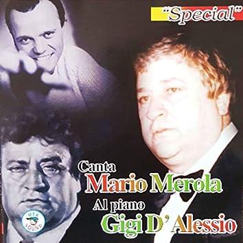 Al piano Gigi D'Alessio special