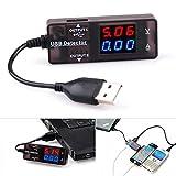 BlueBeach USB Power Meter Testeur de tension actuel Monitor- USB 2.0 3.0 Volt Amp Lecteur...