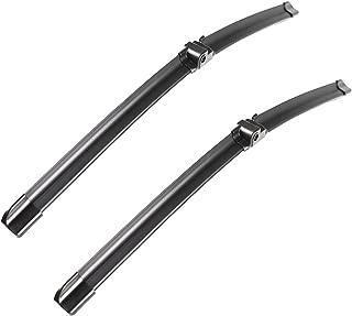 2 wiper Factory for Mercedes-Benz W207 W212 E350 E400 E550 E63 AMG W204 Class C250 C300 C350 C63 AMG W218 C218 CLS550 CLS63 AMG Front Wiper Blade Set - 24