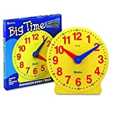 Learning Resources Big Time Learning 12Stundennuhr, -