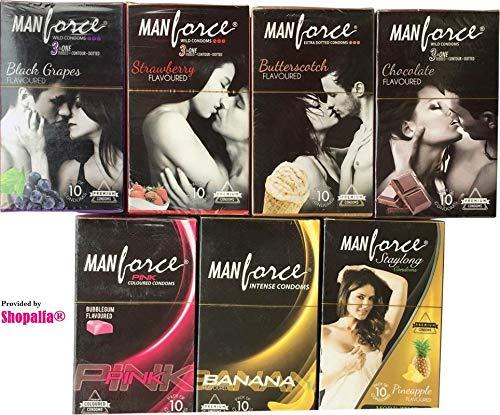 Manforce Condoms For Men -Mixed Flavours (4 * 10 Pack)
