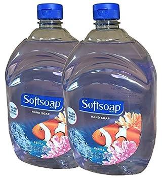 Softsoap Liquid Hand Soap Aquarium Series Basic Pack Unscented 64 Fl Oz  Pack of 2