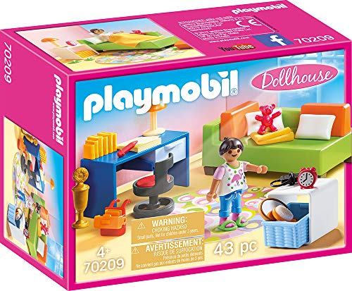 Playmobil Dollhouse 70209 Kinderkamer Met Bedbank