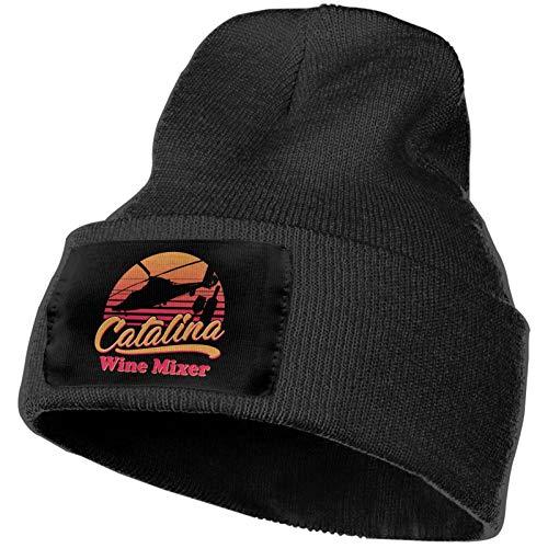 Etdai Catalina Wine Mixer. Beanie - Winter Hats, Unisex Warm Hat, Skull Cap, Ski Hat - Knit Hat for Men & Women
