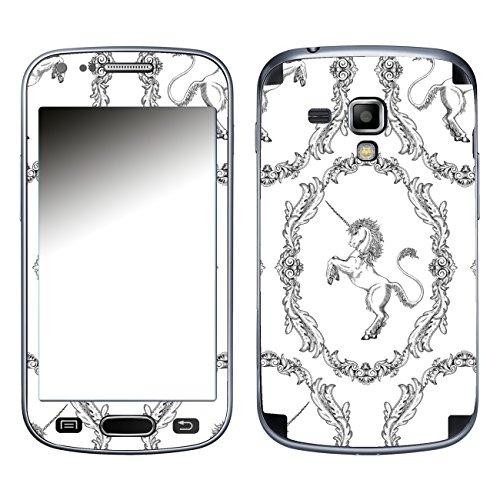 DISAGU SF 105745_ 1126Pellicola Design per Samsung Galaxy Trend Plus, Motivo Classico Unicorno Modello