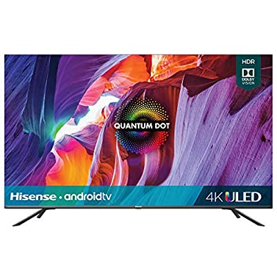 Hisense 75-Inch Class H8 Quantum Series Android 4K ULED Smart TV with Voice Remote (75H8G, 2020 Model) by Hisense