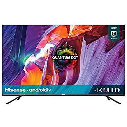 commercial Hisense 50 inch H8 series Android 4K ULED smart TV (with voice remote control) (50H8G, 2020 … hisense led tv 2
