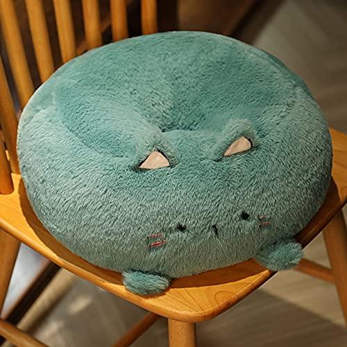 KXEYTAE Futon Cushion Thickened Round Plush Balcony Bay Window Tatami Lazy Floor Meditation Yoga Mat (Color : 5, Size : 40cm)