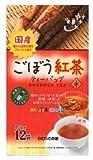 のむらの茶 国産紅茶入りごぼう茶 ティーバッグ 1.5X12