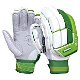 KOOKABURRA Unisex's 2020 Kahuna Pro Batting Gloves (Small Adult Left Hand), White