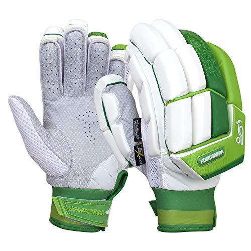 KOOKABURRA Batting Gloves 2020 Kahuna Pro Schlaghandschuhe (für Erwachsene, Linke Hand), weiß, Adult Left