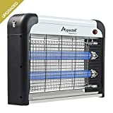 Aspectek Electronic Bug Zapper, Insect Killer - Mosquito, Fly, Moth Trap - Powerful 2800V Grid 20W Bulbs - for Residential & Commercial Indoor Use