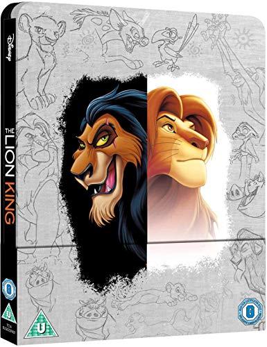 Der König der Löwen 4K Steelbook, Zavvi exklusiv mit deutschem Ton auf 4K Blu-ray, Ultra HD Blu-ray + Blu-ray, Uncut, Regionfree, OOP