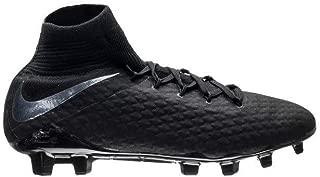 Nike Hypernom III 3 Pro Dynamic Fit FG AJ3802 001 Black/Black Soccer Cleats (M 9.5)