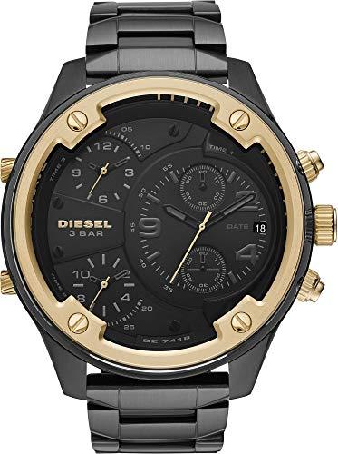 Diesel Reloj Cronógrafo para Hombre de Cuarzo con Correa en Acero Inoxidable DZ7418